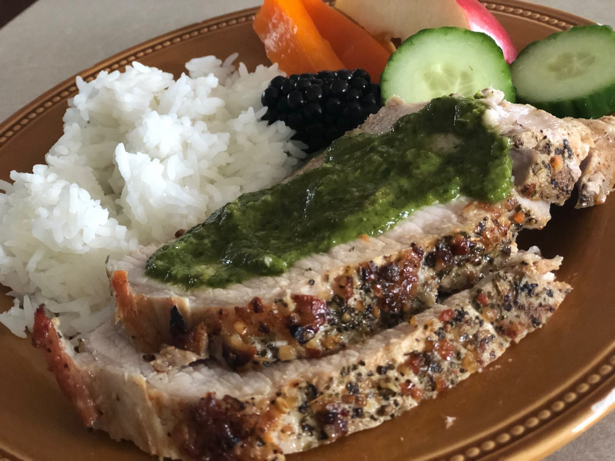Garlic Butter Pork Tenderloin Recipe